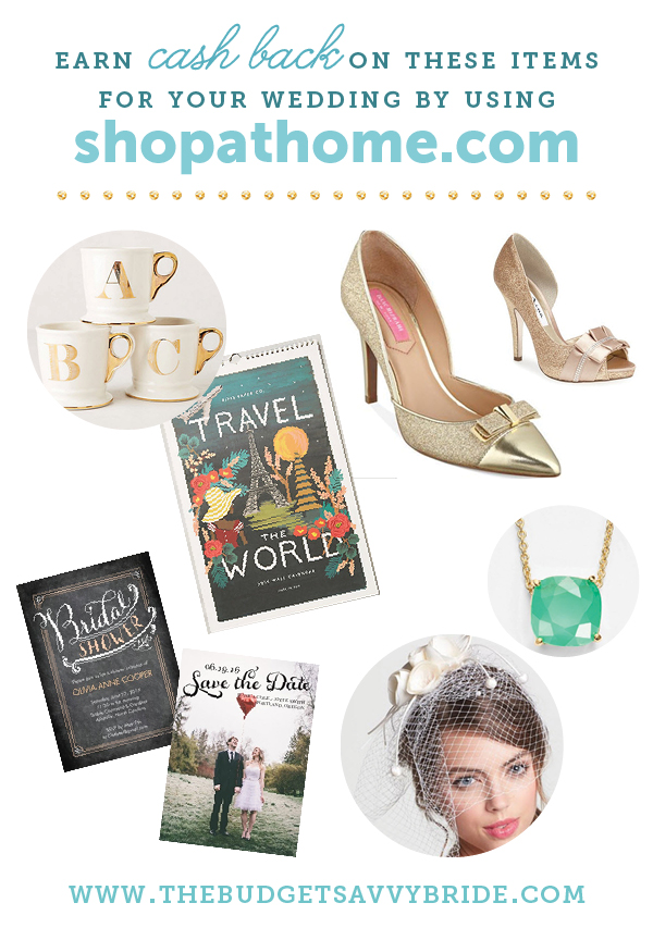 shopathome wedding items