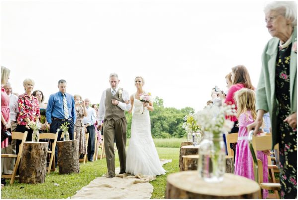 father of the bride - bridal processional