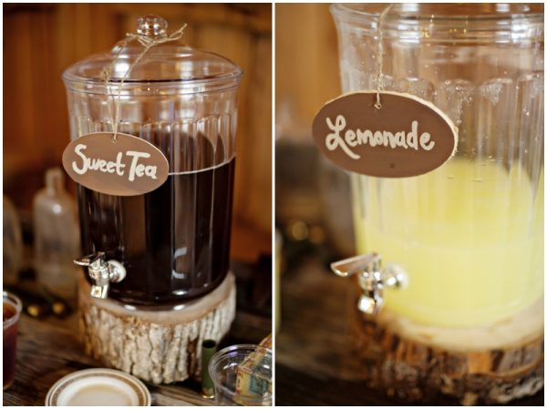 lemonade and sweet tea dispensers