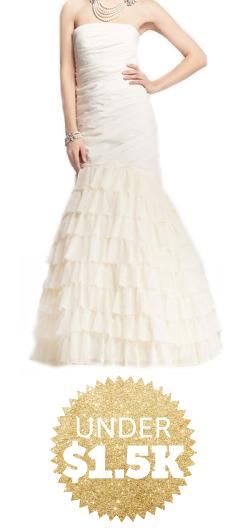 wedding dresses under $1500