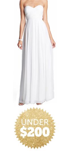 wedding dresses under $200