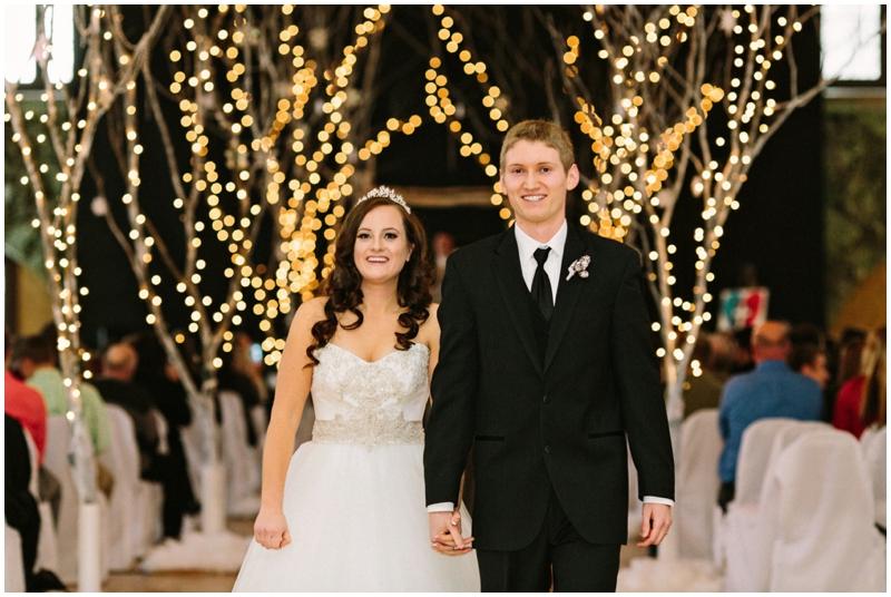www.james-stokes.com magical DIY winter wedding bride and groom