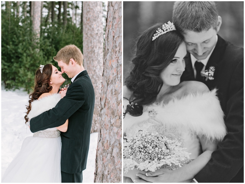 www.james-stokes.com winter wedding snow pictures