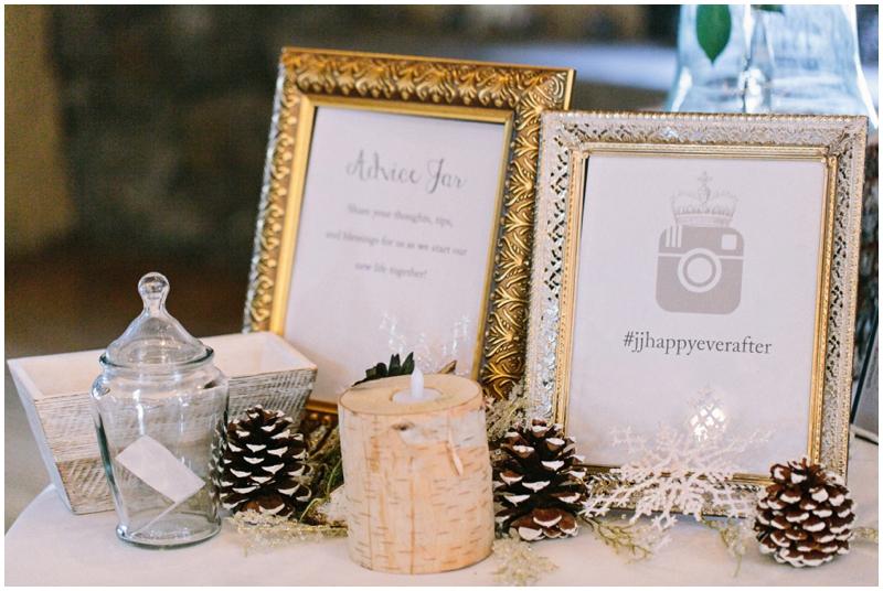 www.james-stokes.com winter wedding reception details instagram
