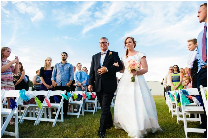wedding ceremony - the bride's processional