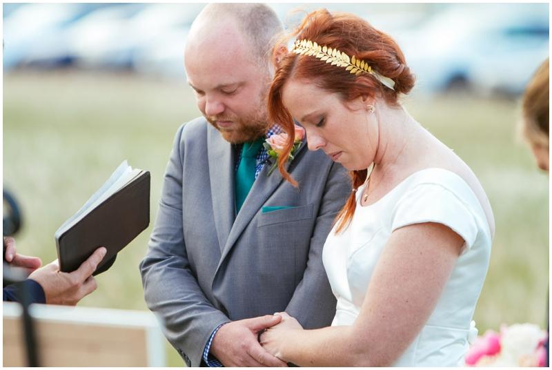 wedding ceremony / prayer
