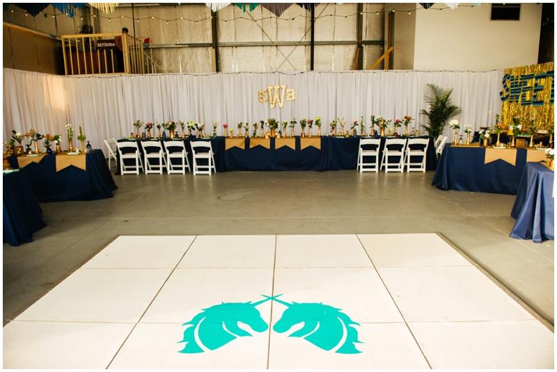 wedding reception - dance floor