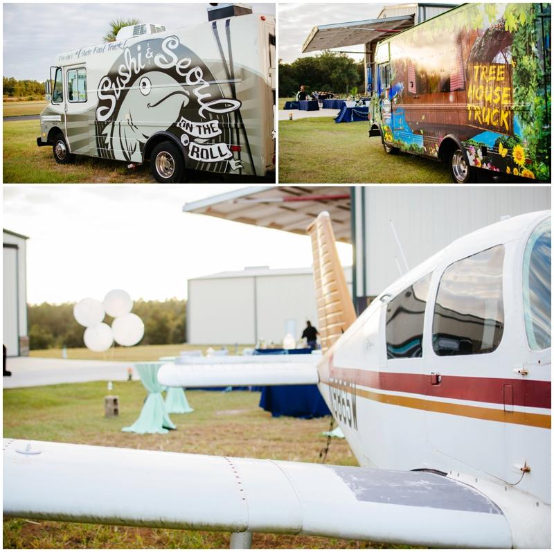 food trucks at wedding -- so awesome!!