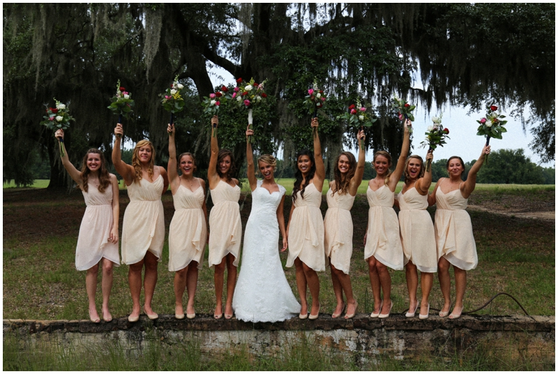 cute bridesmaid shot