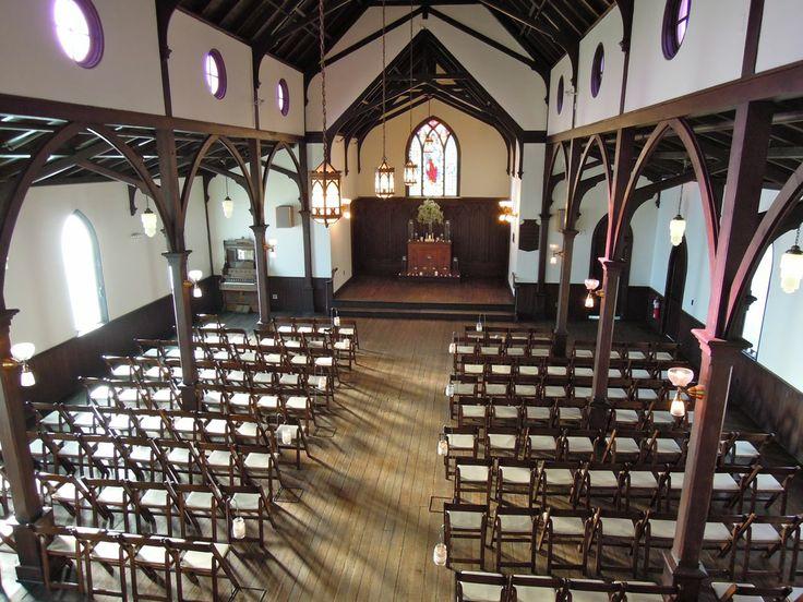 Inside of All Saints Chapel