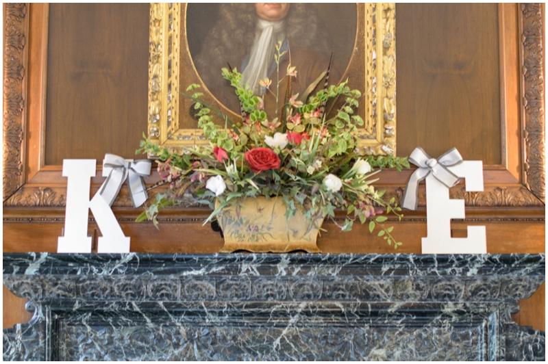 wedding letter monograms