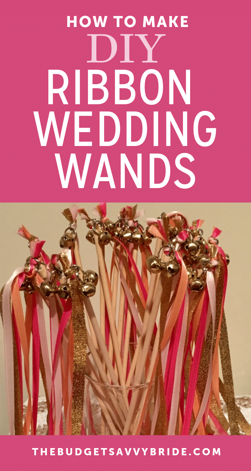 Looking for a unique wedding send-off? Learn how to make wedding ribbon wands for your ceremony exit!