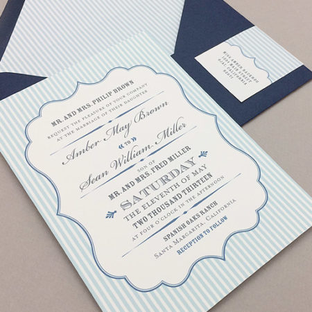 Amber Suite - Printable Wedding Invitations from Download & Print