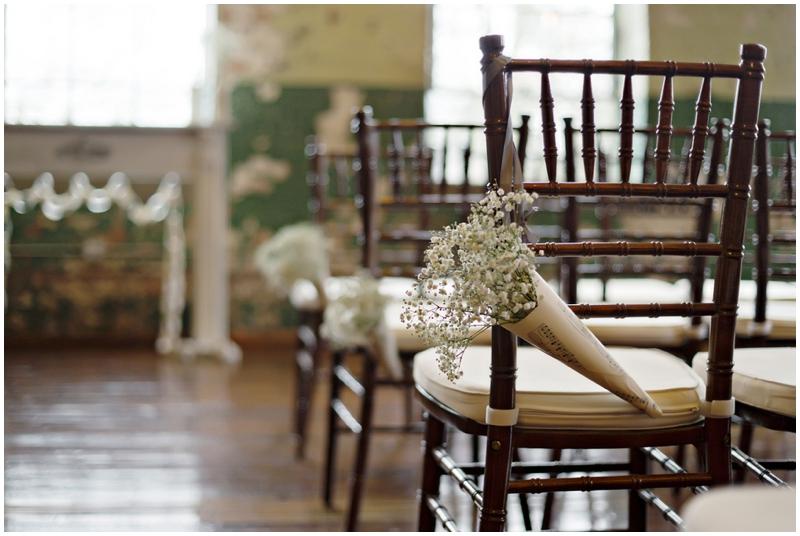 rustic chic wedding details