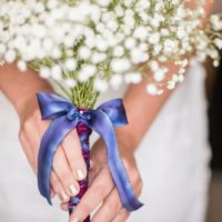 diy babys breath bouquet - photos by mikkel paige