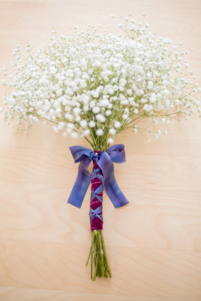 diy babys breath bouquet | photo by Mikkel Paige