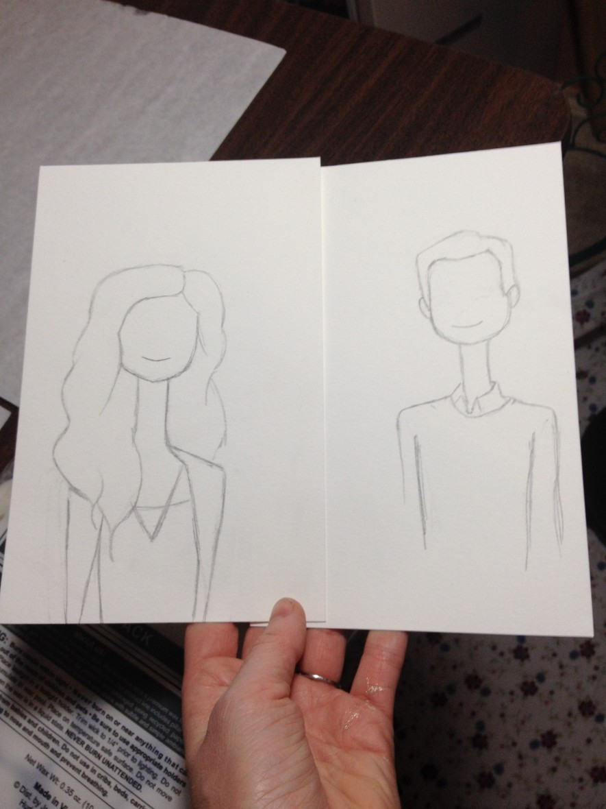 Couple Character Sketch