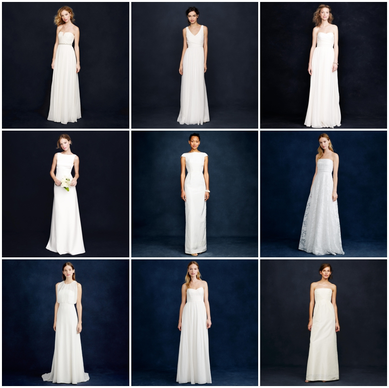 9 Wedding Dresses From J Crew For Under 800