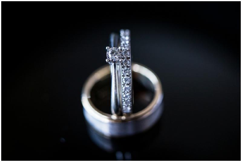 retro inspired wedding ring