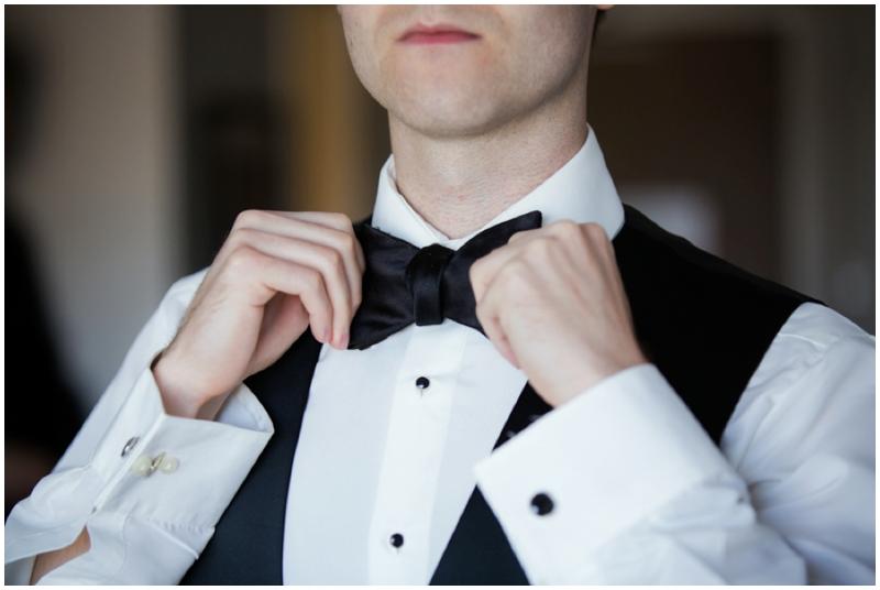 retro inspired dapper groom