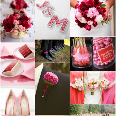 Valentine's Wedding Inspiration