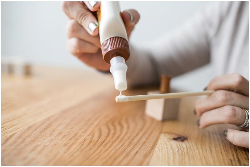 wooden table number holder tutorial