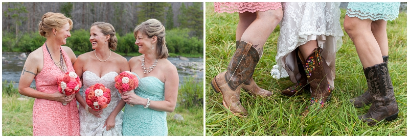 bridesmaid boots