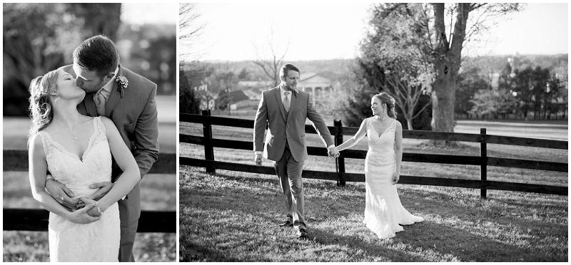 bride and groom outdoor photos