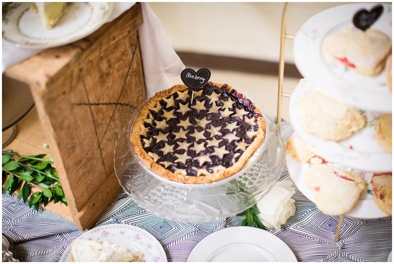 pie reception