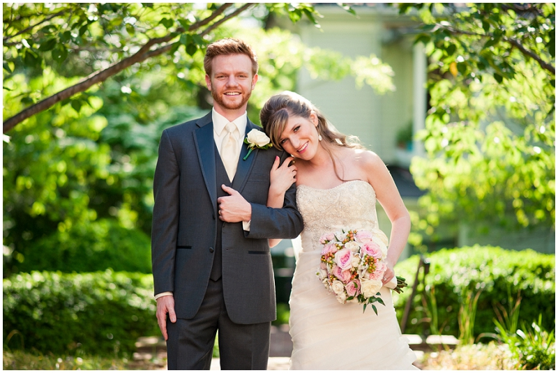 outdoor bridal photos