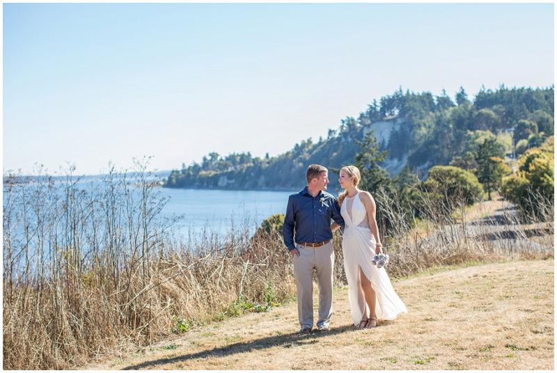 seaside wedding photos