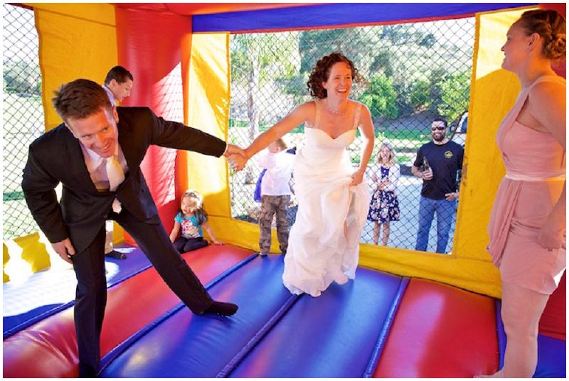 wedding bouncy house