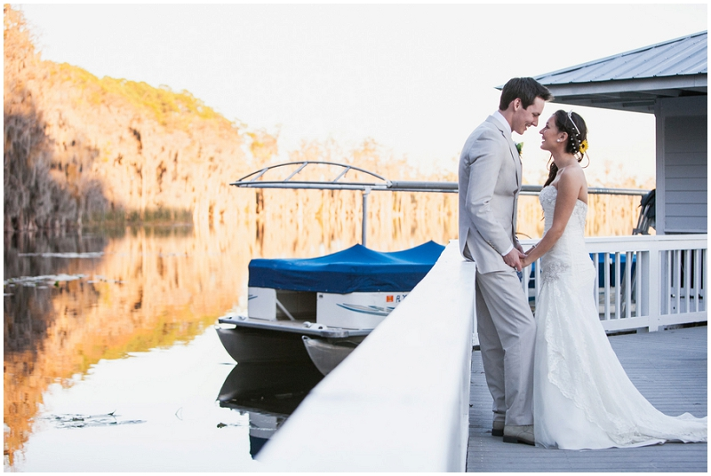 beach bridal photos