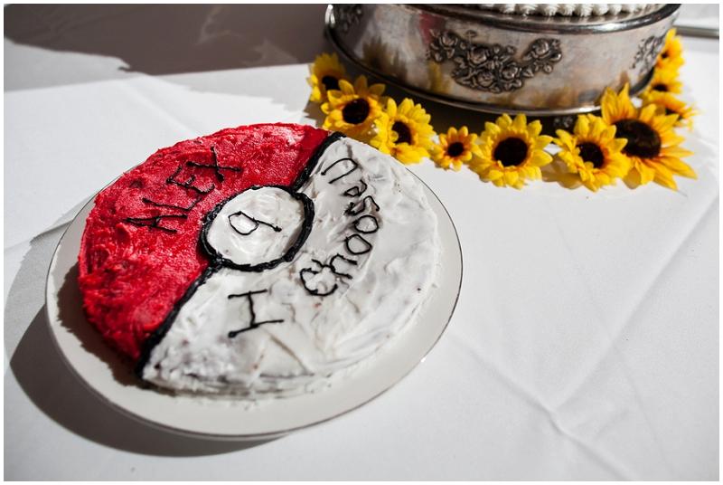 pokemon wedding cake