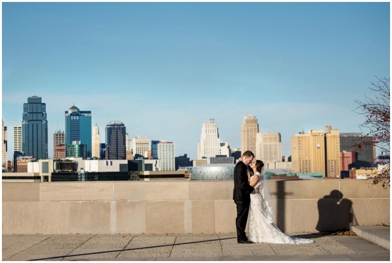 skyline wedding photos