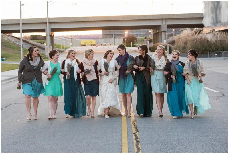 teal bridesmaid dresses