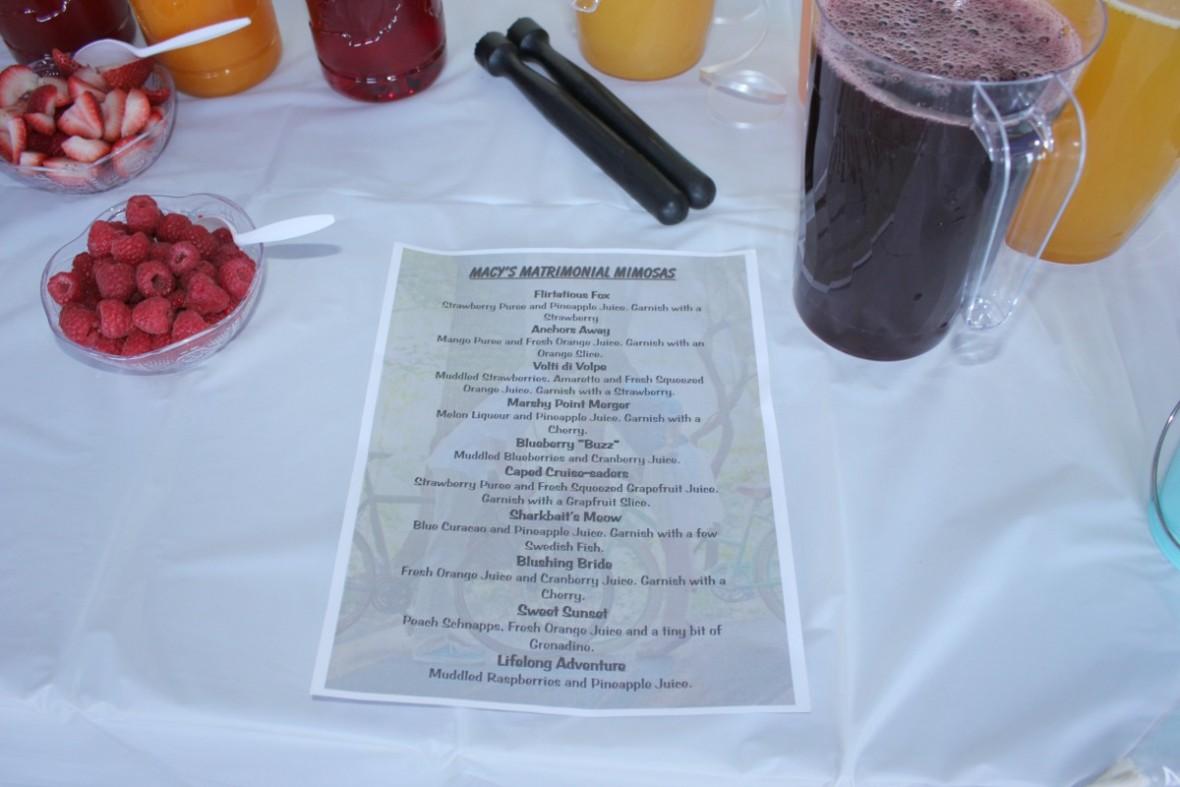 Mimosa_menu