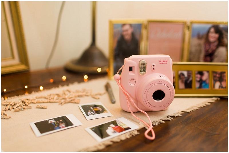 homemade photo booth