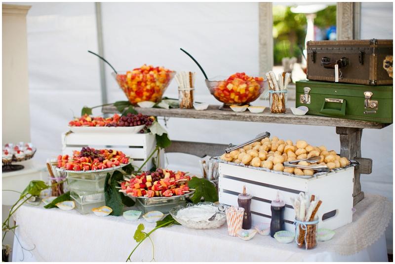 wedding dessert reception