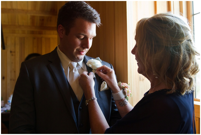 mother boutonniere photo