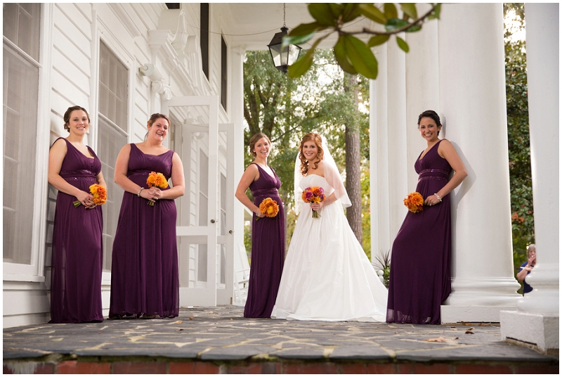 eggplant bridesmaid dresses