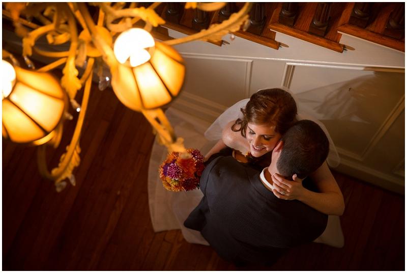 indoor couple  wedding photos