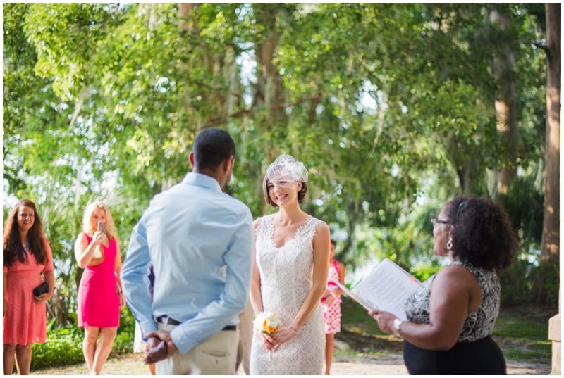unconventional wedding ceremony