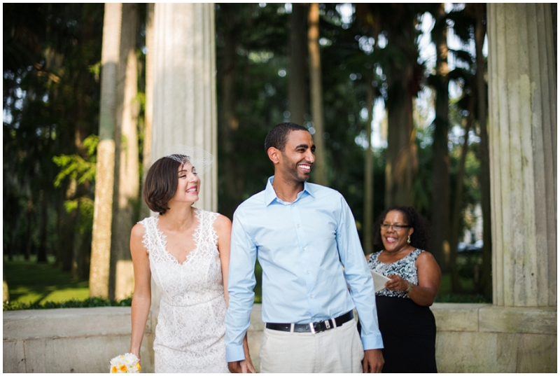 casual wedding recessional