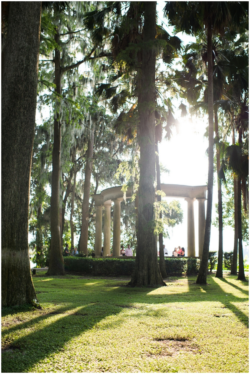 outdoor intimate wedding