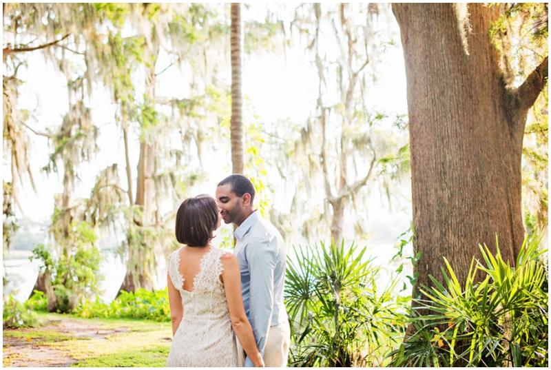 Florida wedding couple photos