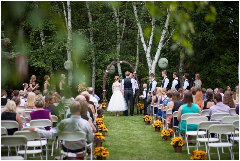 Rustic Woodlands Wedding (11)