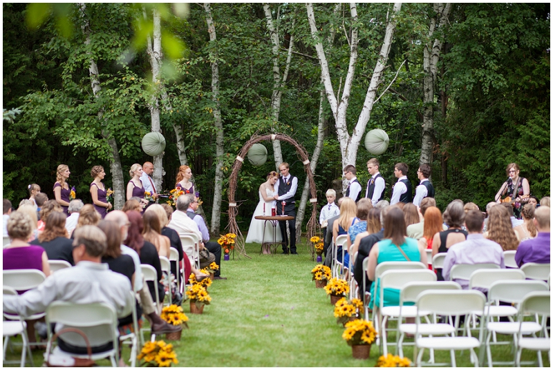 Rustic Woodlands Wedding (14)