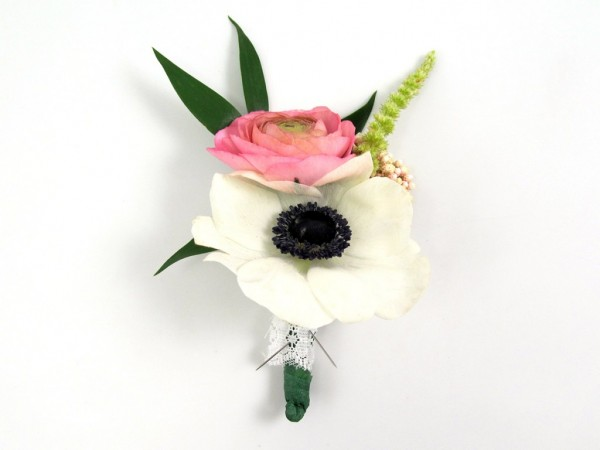wedding boutonniere tutorial