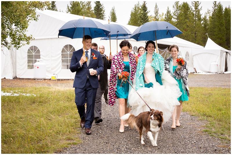 after ceremony wedding photos
